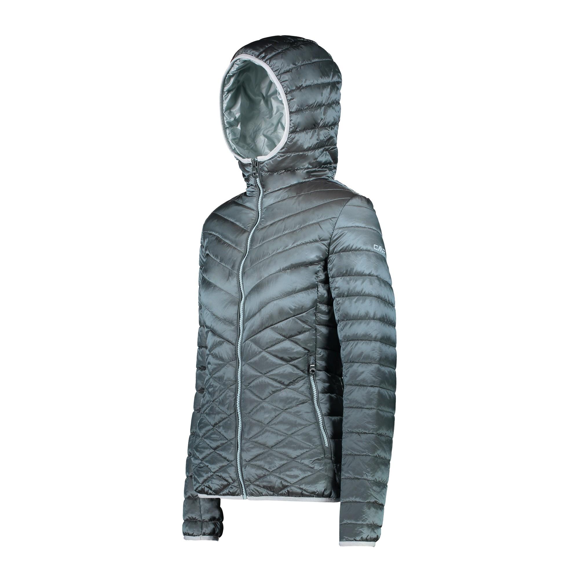 CMP Woman Jacket Fix Hood Da Donna Trapuntata 38z2286