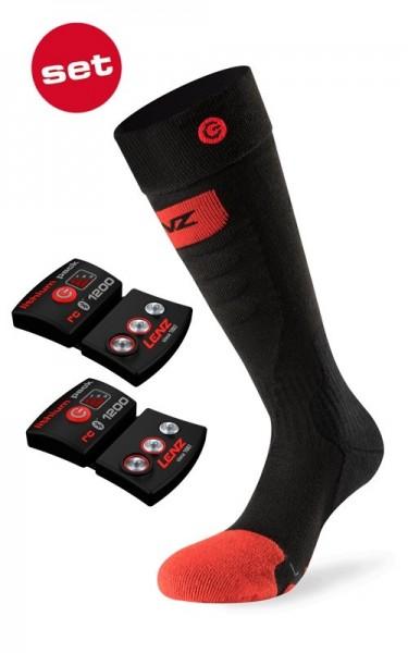 LENZ Set of heat sock 5.0 toe cap slim fit +rcB 1200