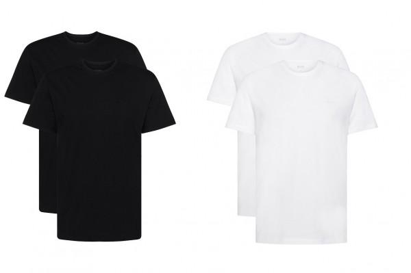 Boss Relaxed-Fit Baumwoll Rundhals T-Shirts 2er Pack