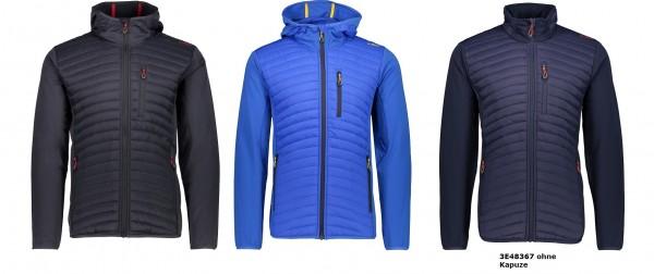 CMP Man Jacket Fix Hood Hybrid ODER Man Hybrid Jacket - Herren Steppjacke