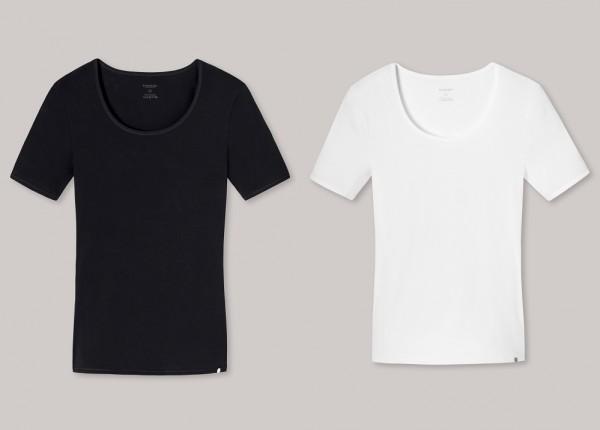 Schiesser Damen Shirt kurzarm Rundhals