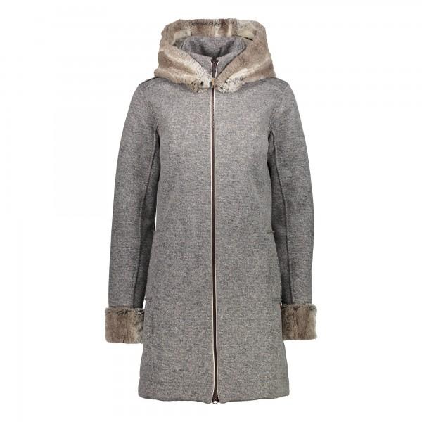 CMP Woman Jacket Fix Hood - Damen Winterjacke