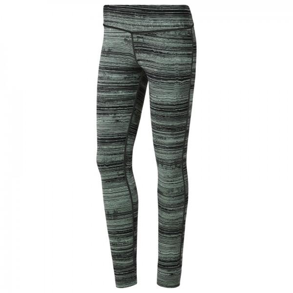 REEBOK Lux Tight – Stratified Stripes - Damen Fitnesshose