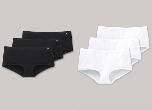 Schiesser Damen Shorts 3er Pack