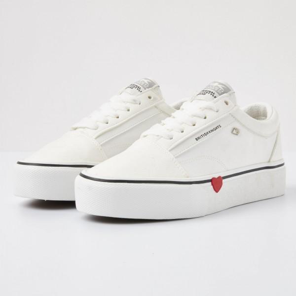 British Knights MACK Platform Damen-Plateau-Sneaker